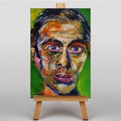 Big Box Art Self Portrait by Ernst Ludwig Kirchner Art Print on Canvas
