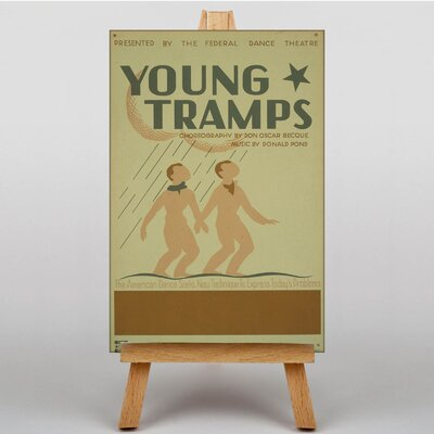 Big Box Art Young Tramps Vintage Advertisement on Canvas