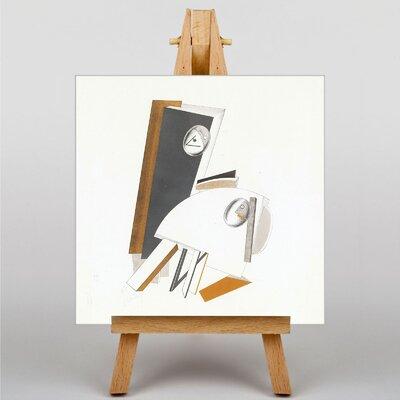 Big Box Art Abstract No.5 by El Lissitzky Art Print on Canvas