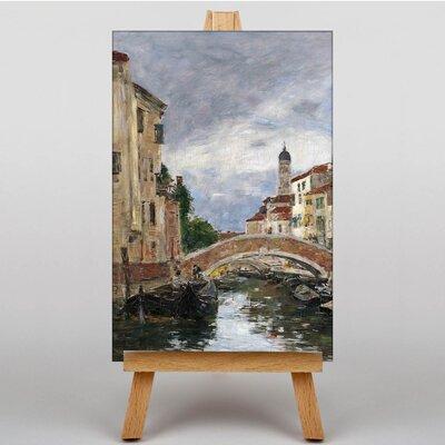 Big Box Art Venice No.2 by Eugene Boudin Art Print on Canvas