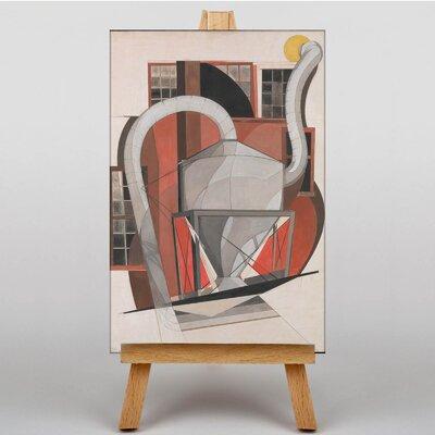 Big Box Art Machinery by Charles Demuth Art Print on Canvas