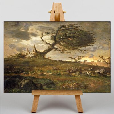 Big Box Art The Gust of Wind by Jean-Francois Millet Art Print on Canvas