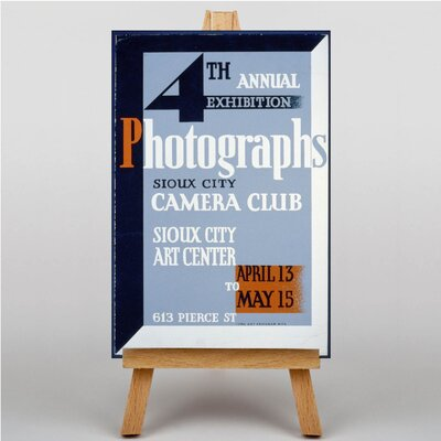 Big Box Art WPA Camera Club Vintage Advertisement on Canvas