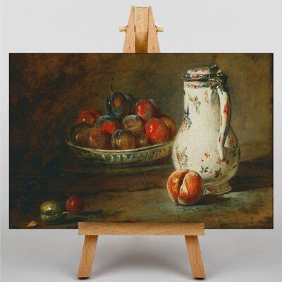 Big Box Art Still Life No.4 by Jean Chardin Art Print on Canvas