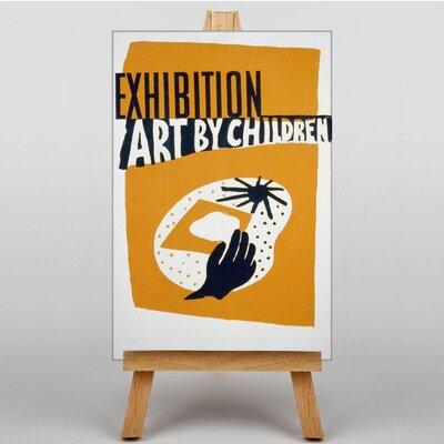 Big Box Art Exhibition No.17 Vintage Advertisement on Canvas