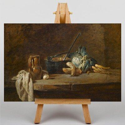 Big Box Art Still Life by Jean Chardin Art Print on Canvas