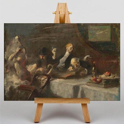 Big Box Art A Night at Maxims by Jean-Louis Forain Art Print on Canvas