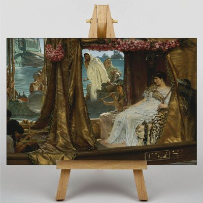 Big Box Art The Meeting of Anthony and Cleopatra by Lawrence Alma-Tadema Art Print on Canvas