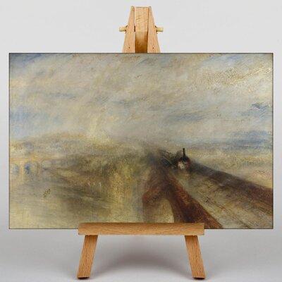 Big Box Art Rain, Steam and Speed by Joseph Mallord William Turner Art Print on Canvas
