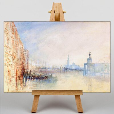 Big Box Art Venice the Mouth of the Grand Canal by Joseph Mallord William Turner Art Print on Canvas
