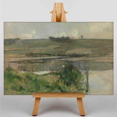 Big Box Art Twachtman Landscape by John Henry Art Print on Canvas