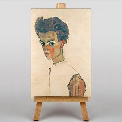 Big Box Art Portrait No.1 by Egon Schiele Art Print on Canvas