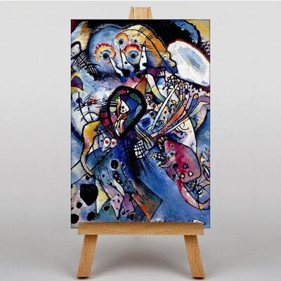 Big Box Art Due Ovali by Wassily Kandinsky Art Print on Canvas