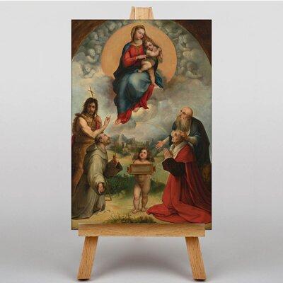 Big Box Art Foligno by Raphael Madonna Art Print on Canvas