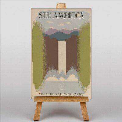 Big Box Art See America No.3 Art Print on Canvas