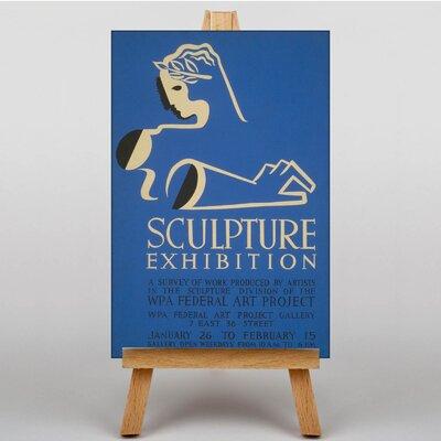 Big Box Art Sculpture Vintage Advertisement on Canvas