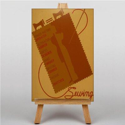 Big Box Art Sewing Vintage Advertisement on Canvas