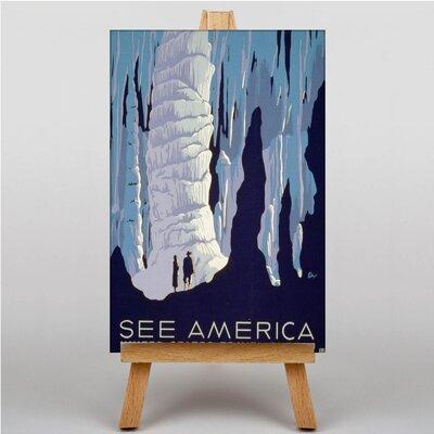 Big Box Art See America Vintage Advertisement on Canvas
