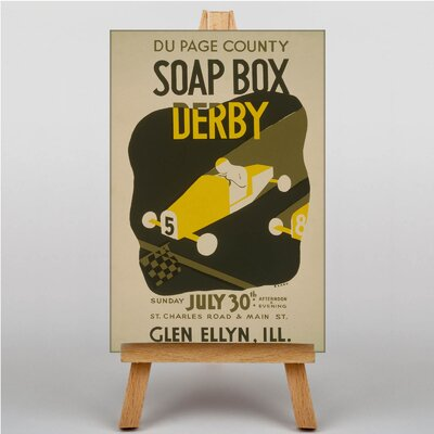 Big Box Art Soap Box Derby Vintage Advertisement on Canvas