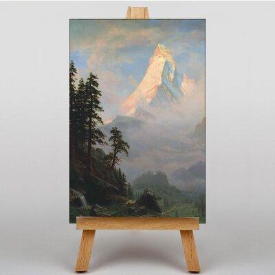 Big Box Art Rocky Landscape by Thomas Moran Art Print on Canvas