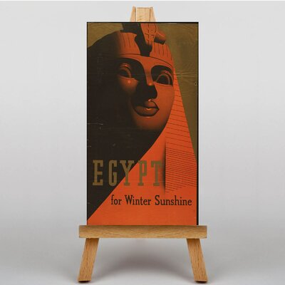 Big Box Art Egypt Vintage Advertisement on Canvas