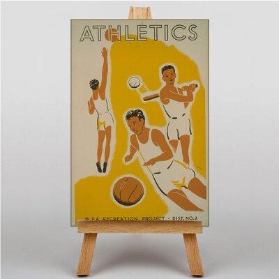 Big Box Art Athletics Vintage Advertisement on Canvas