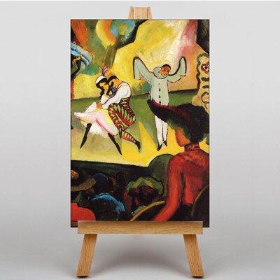 Big Box Art Russian Ballet by August Macke Art Print on Canvas
