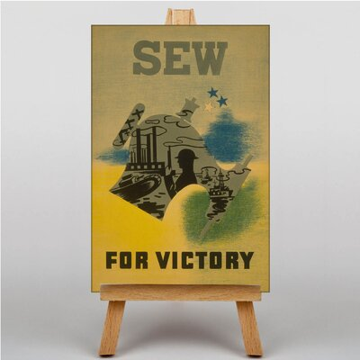 Big Box Art Sew for Victory Vintage Advertisement on Canvas