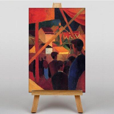 Big Box Art Tightrope Walker by August Macke Art Print on Canvas