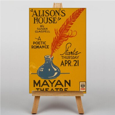 Big Box Art Alison's House No.3 Vintage Advertisement on Canvas