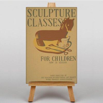Big Box Art Sculpture No.2 Vintage Advertisement on Canvas