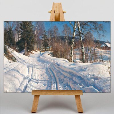 Big Box Art 'A Winter Path' by Peder Mork Monstead Photographic Print
