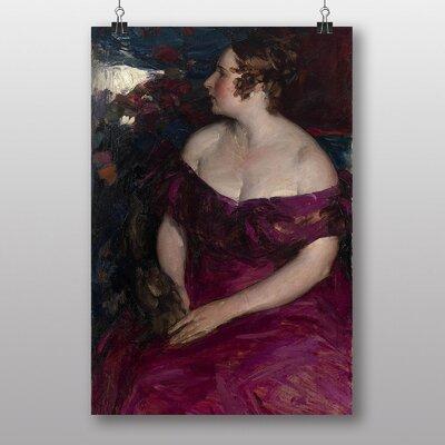 Big Box Art 'Female Portrait' by Abram Arkhipov Art Print