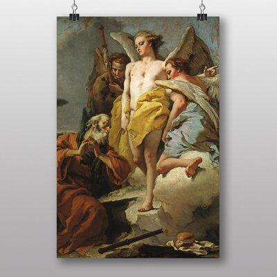 "Big Box Art ""Angels"" by Abraham Hondius Art Print Wrapped on Canvas"