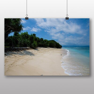 Big Box Art 'Abandoned Beach Island' Photographic Print