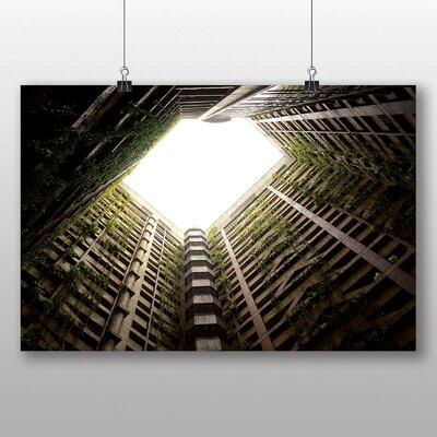 Big Box Art 'Abandoned High Rise Building' Photographic Print