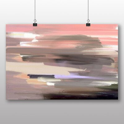 Big Box Art Abstract Design No.3 Art Print Wrapped on Canvas