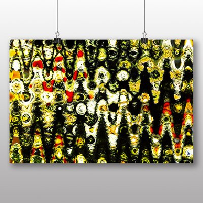 Big Box Art Abstract Design No.5 Graphic Art Wrapped on Canvas