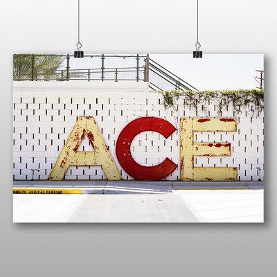 Big Box Art 'Ace Street Sign' Photographic Print