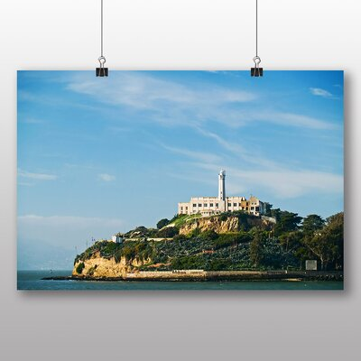 Big Box Art Alcatraz Photographic Print Wrapped on Canvas