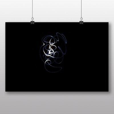 Big Box Art 'Abstract White and Black Light' Graphic Art