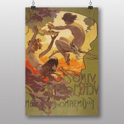 """Big Box Art """"Fawn"""" by Adolfo Hohenstein Art Print on Canvas"""