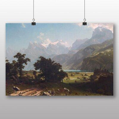 Big Box Art 'Lake Lucerne' by Albert Bierstadt Photographic Print