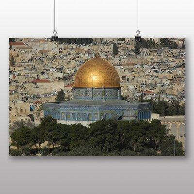 Big Box Art Al Aqsa Mosque Jerusalem Photographic Print Wrapped on Canvas