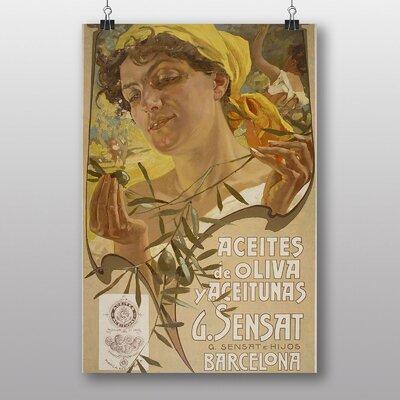 Big Box Art 'Plandiura Collection' by Adolfo Hohenstein Vintage Advertisement