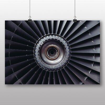 Big Box Art 'Aeroplane Turbine' Graphic Art