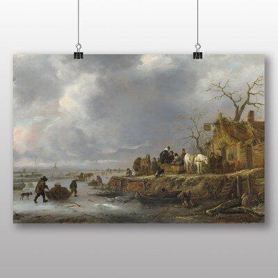 Big Box Art 'Landscape in Winter' by Adriaen Van Ostade Art Print