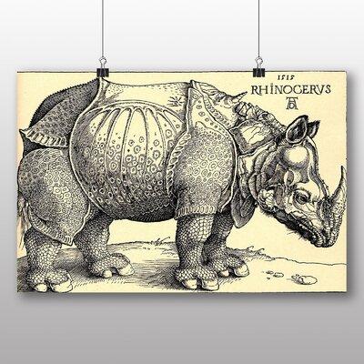 Big Box Art 'Rhinoceros' by Albrecht Durer Graphic Art