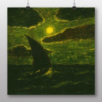 Big Box Art 'Sailing by Moonlight' by Albert Pinkham Ryder Art Print