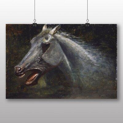 Big Box Art 'A Wild Stallion' by Albert Bierstadt Art Print